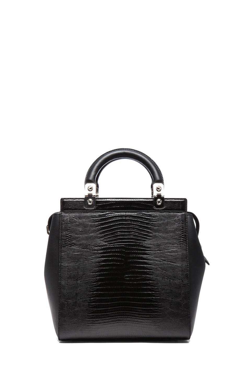 Image 2 of GIVENCHY HDG Stamped Doctor Bag in Black