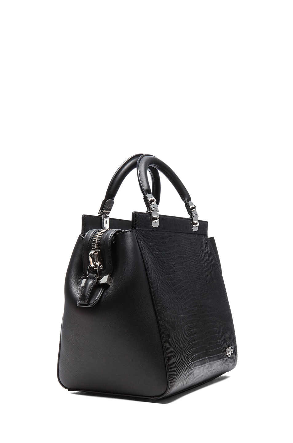 Image 3 of GIVENCHY HDG Stamped Doctor Bag in Black