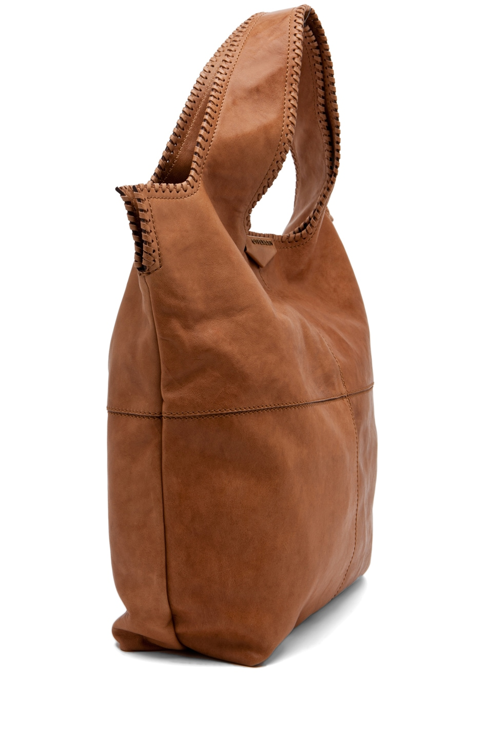 Image 3 of GIVENCHY Big Whipstitch Tote in Camel