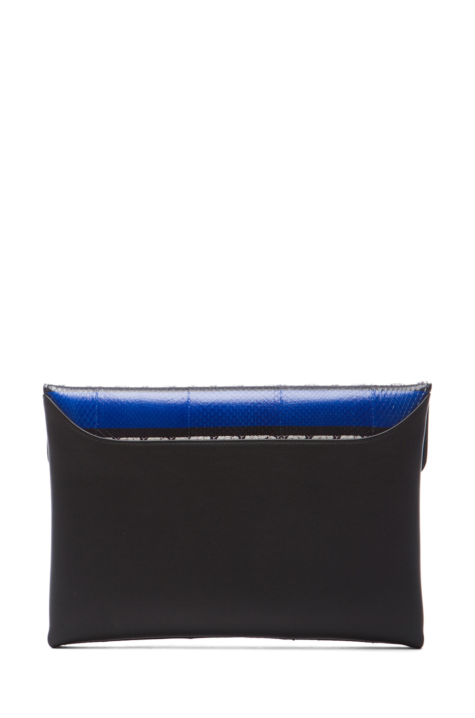 Image 2 of GIVENCHY Medium Ayers Antigona Envelope Clutch in Blue Stripe