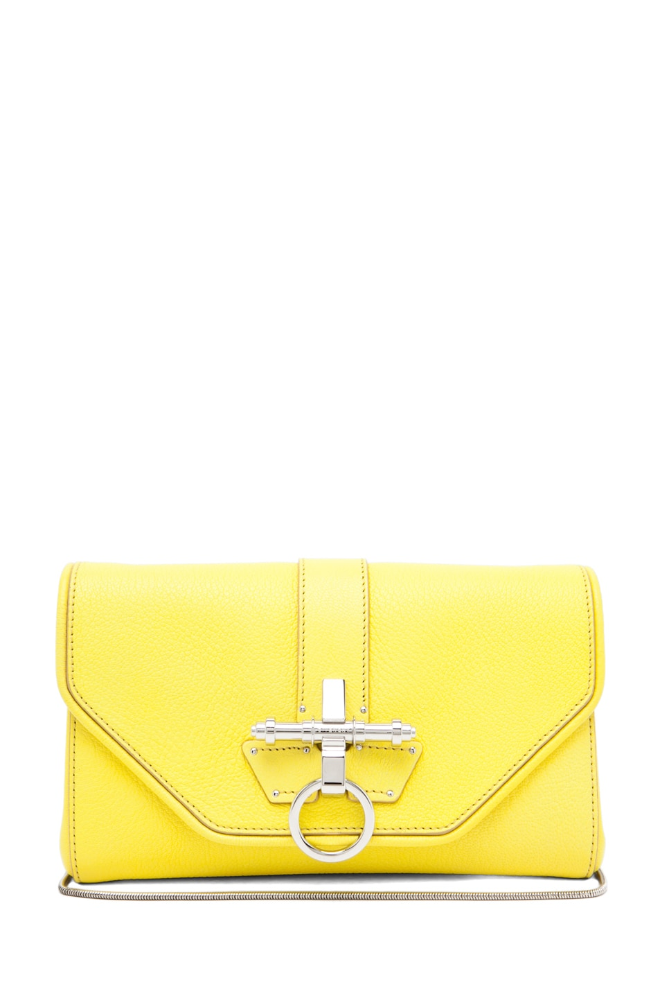 Image 1 of GIVENCHY Obsedia Clutch in Yellow