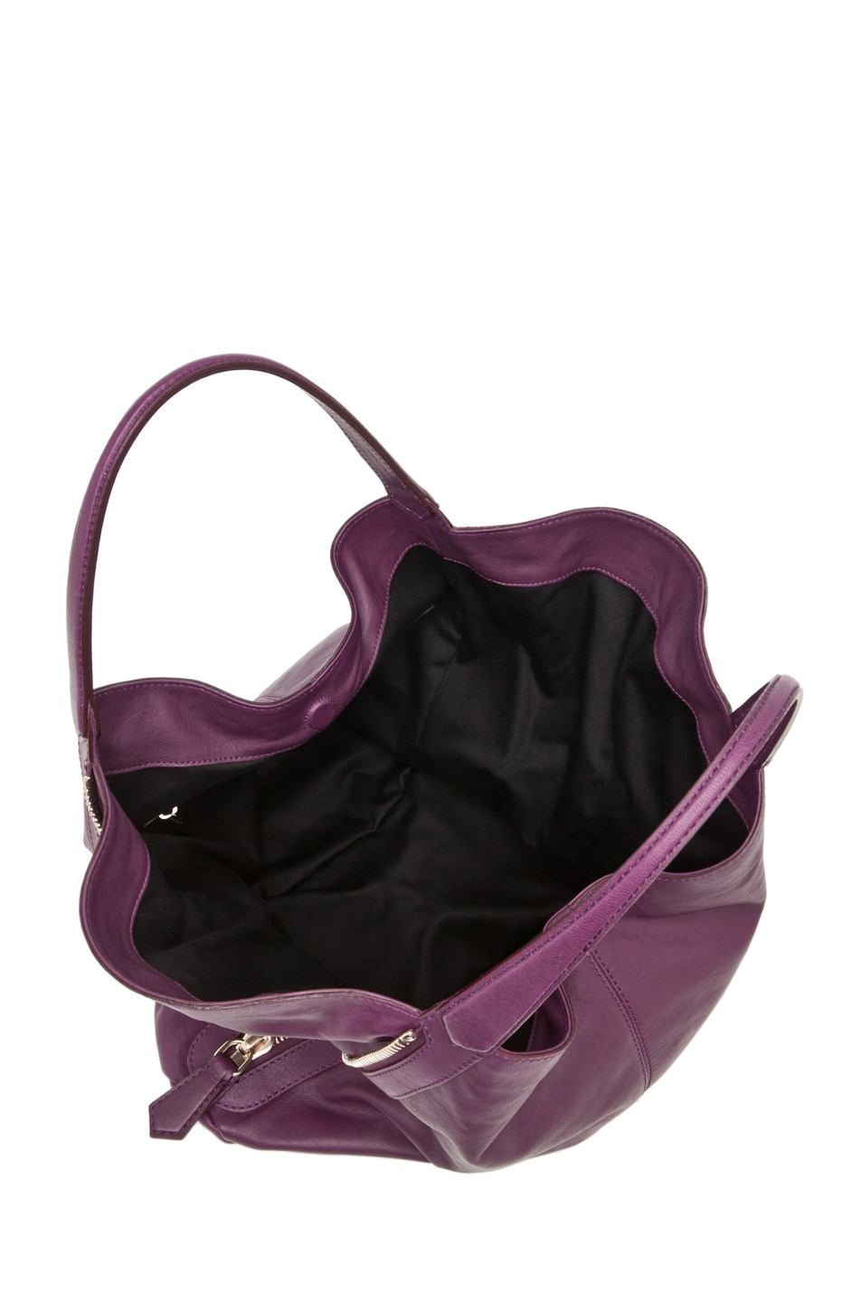 Image 4 of GIVENCHY Tinhan Medium Shopper in Aubergine