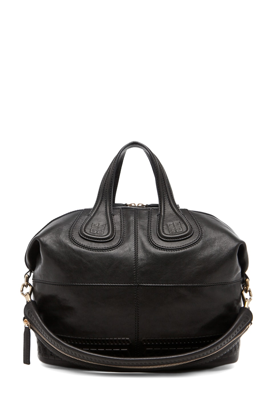 Image 1 of GIVENCHY Nightingale Embossed Detail Medium in Black