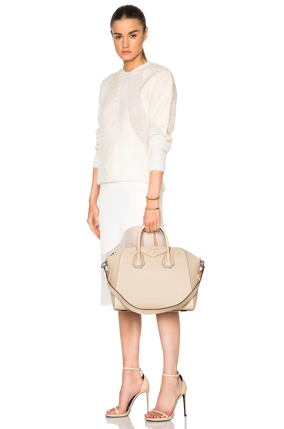 Image 2 of Givenchy Medium Antigona in Beige Buff