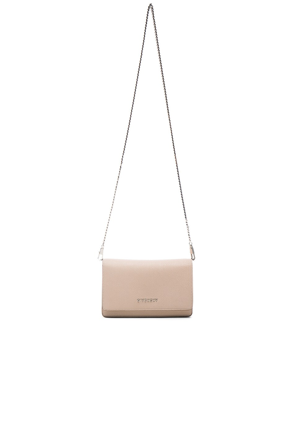 Image 6 of Givenchy Pandora Chain Wallet in Nude Pink