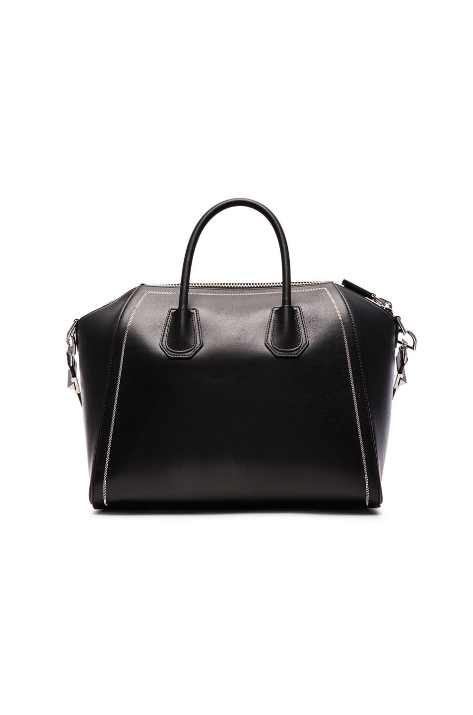 Image 3 of Givenchy Medium Antigona with Chain Detail in Black