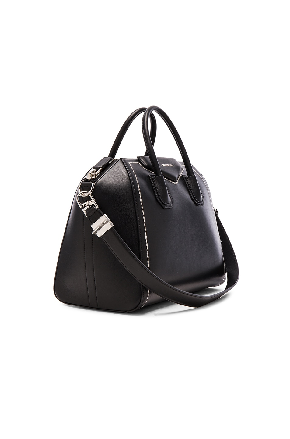 Image 4 of Givenchy Medium Antigona with Chain Detail in Black