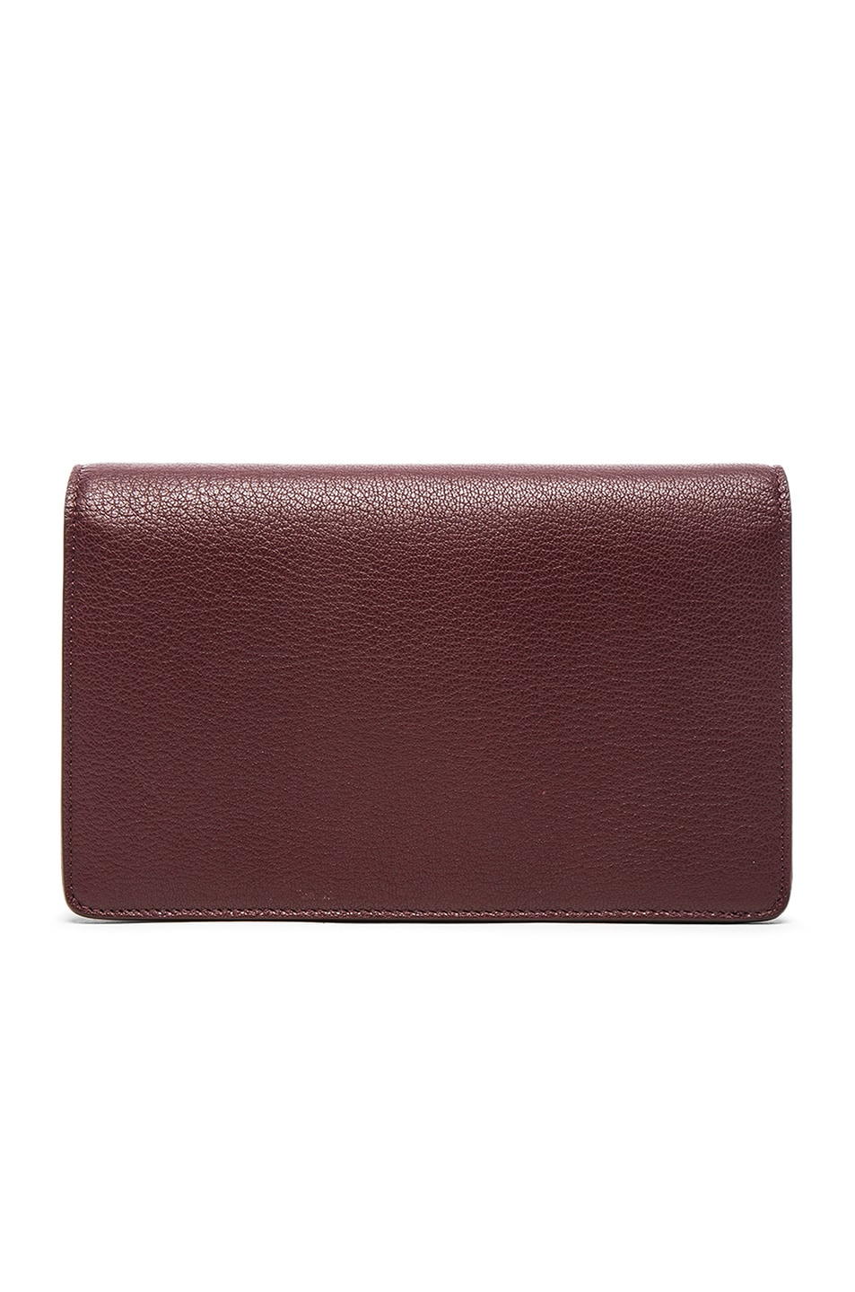 Image 3 of Givenchy Pandora Chain Wallet in Oxblood