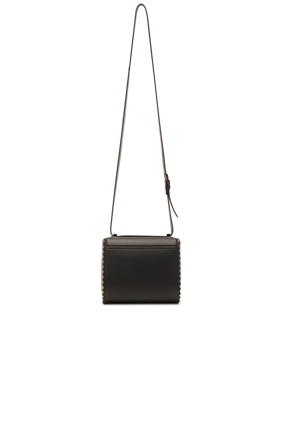 Image 2 of Givenchy Mini Smooth Leather With Chain Piping Pandora in Black
