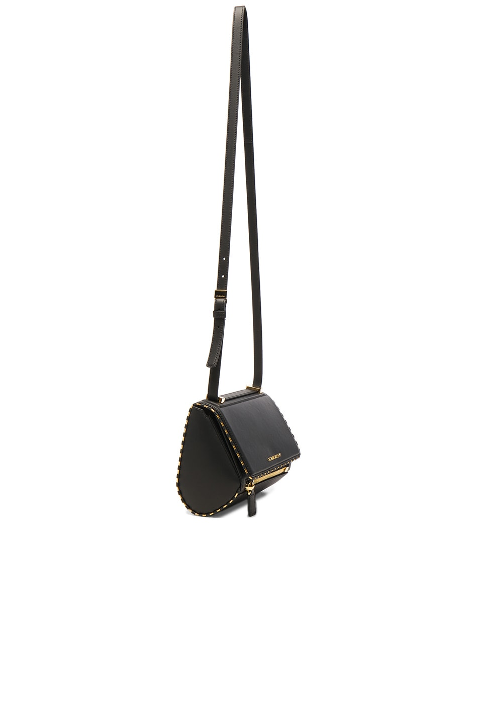 Image 3 of Givenchy Mini Smooth Leather With Chain Piping Pandora in Black