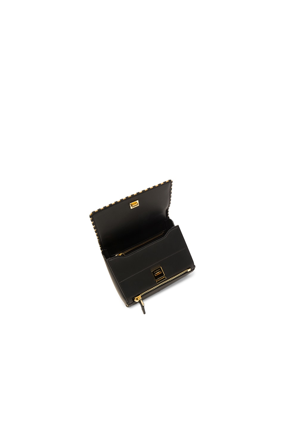Image 4 of Givenchy Mini Smooth Leather With Chain Piping Pandora in Black