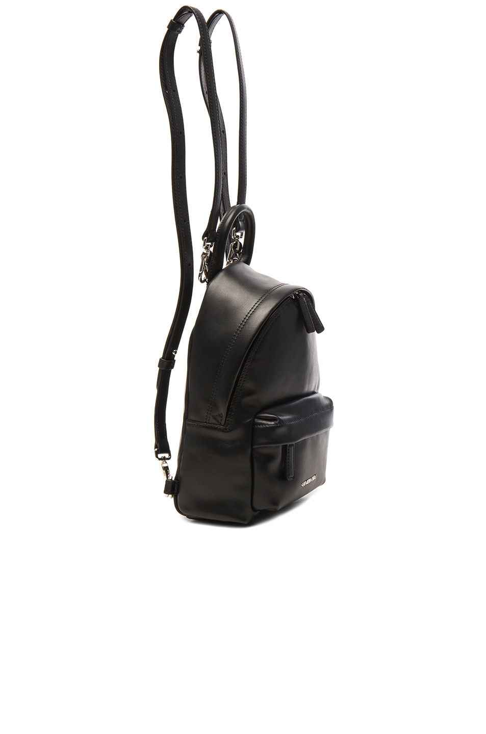 Image 3 of Givenchy Nano Smooth Leather Backpack in Black