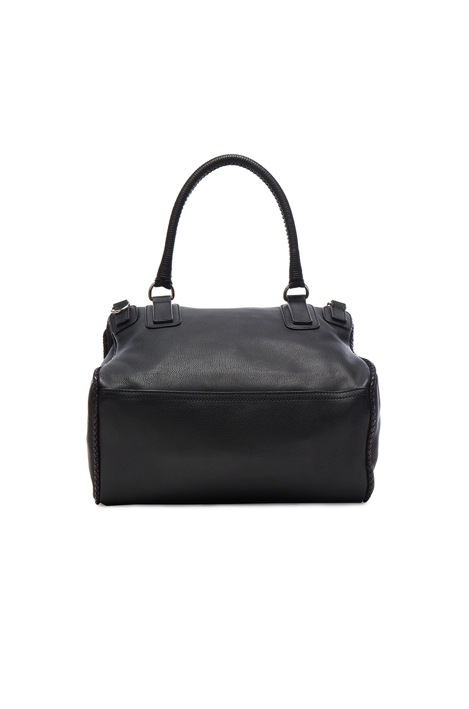 Image 2 of Givenchy Medium Leather With Braided Details Pandora in Black