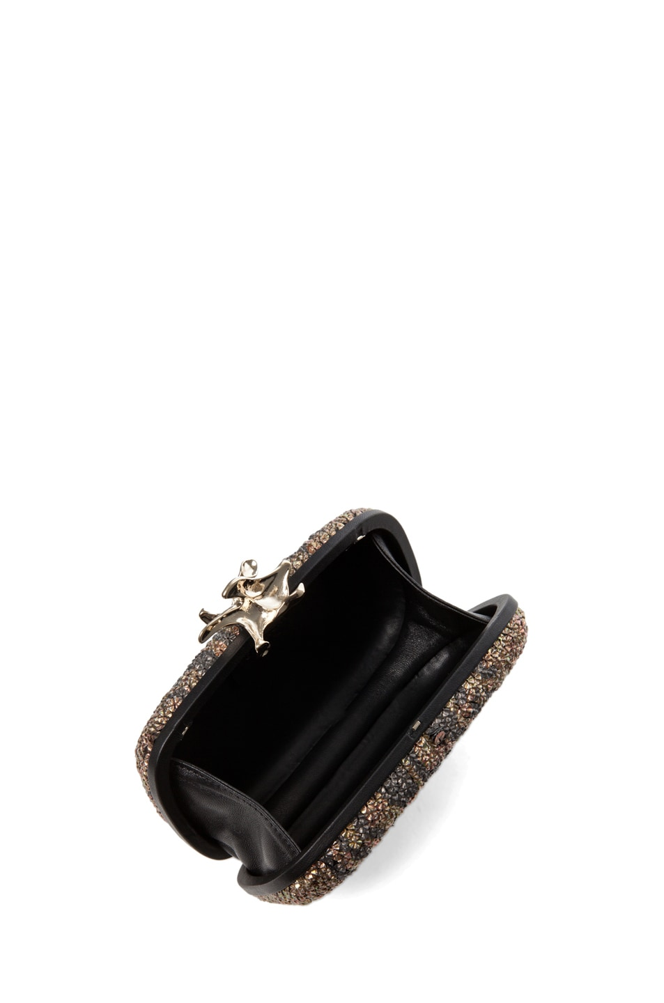 Image 4 of GIVENCHY Metallic Sequin Clutch in Black