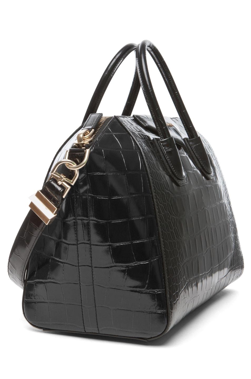 Image 3 of GIVENCHY Medium Antigona Handbag in Black