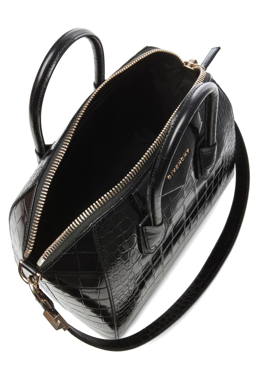 Image 4 of GIVENCHY Medium Antigona Handbag in Black