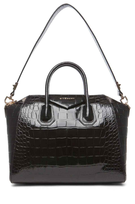 Image 5 of GIVENCHY Medium Antigona Handbag in Black