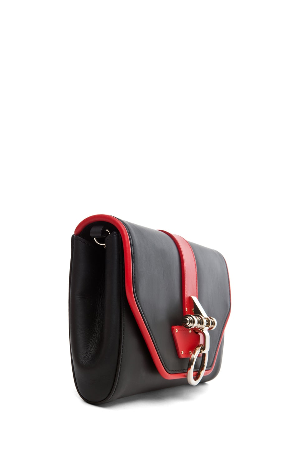 Image 3 of GIVENCHY Obsedia Clutch in Black