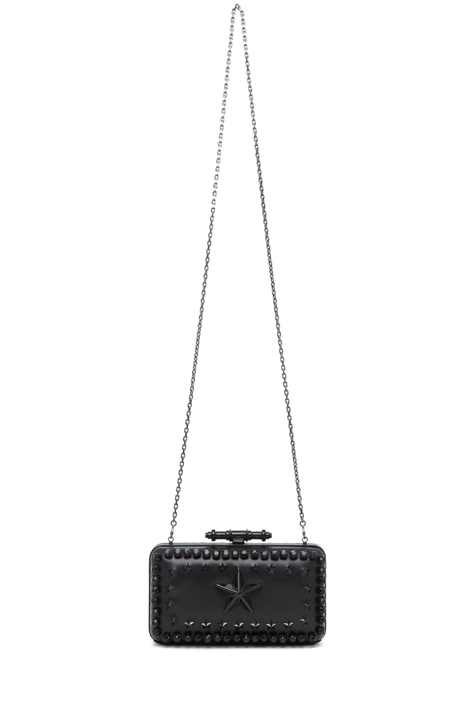 Image 5 of GIVENCHY Obsedia Star-Studded Minaudiere in Black