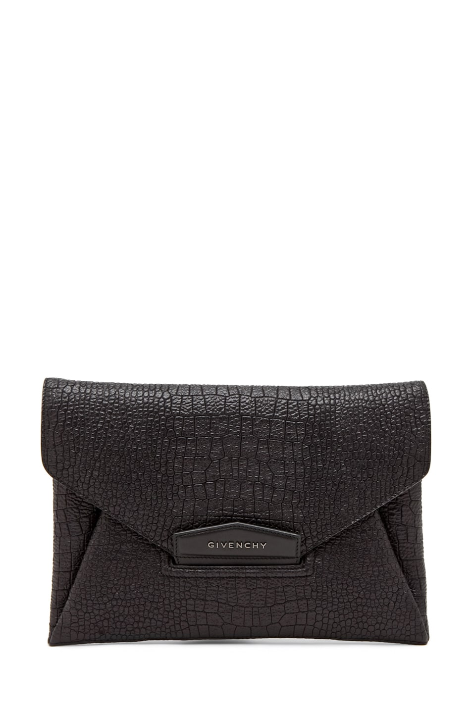 Image 1 of GIVENCHY Envelope Clutch in Black