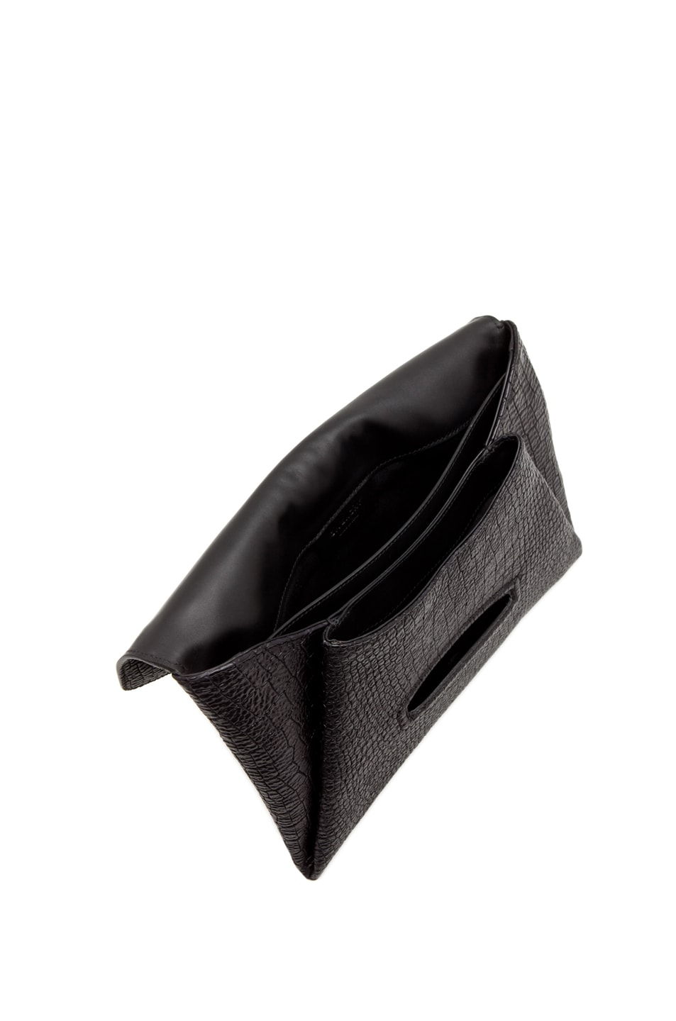 Image 4 of GIVENCHY Envelope Clutch in Black