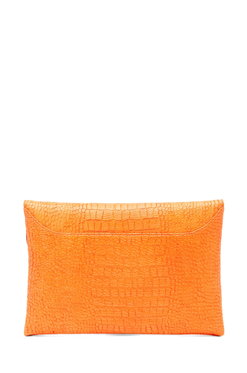 Image 2 of GIVENCHY Envelope Clutch in Orange