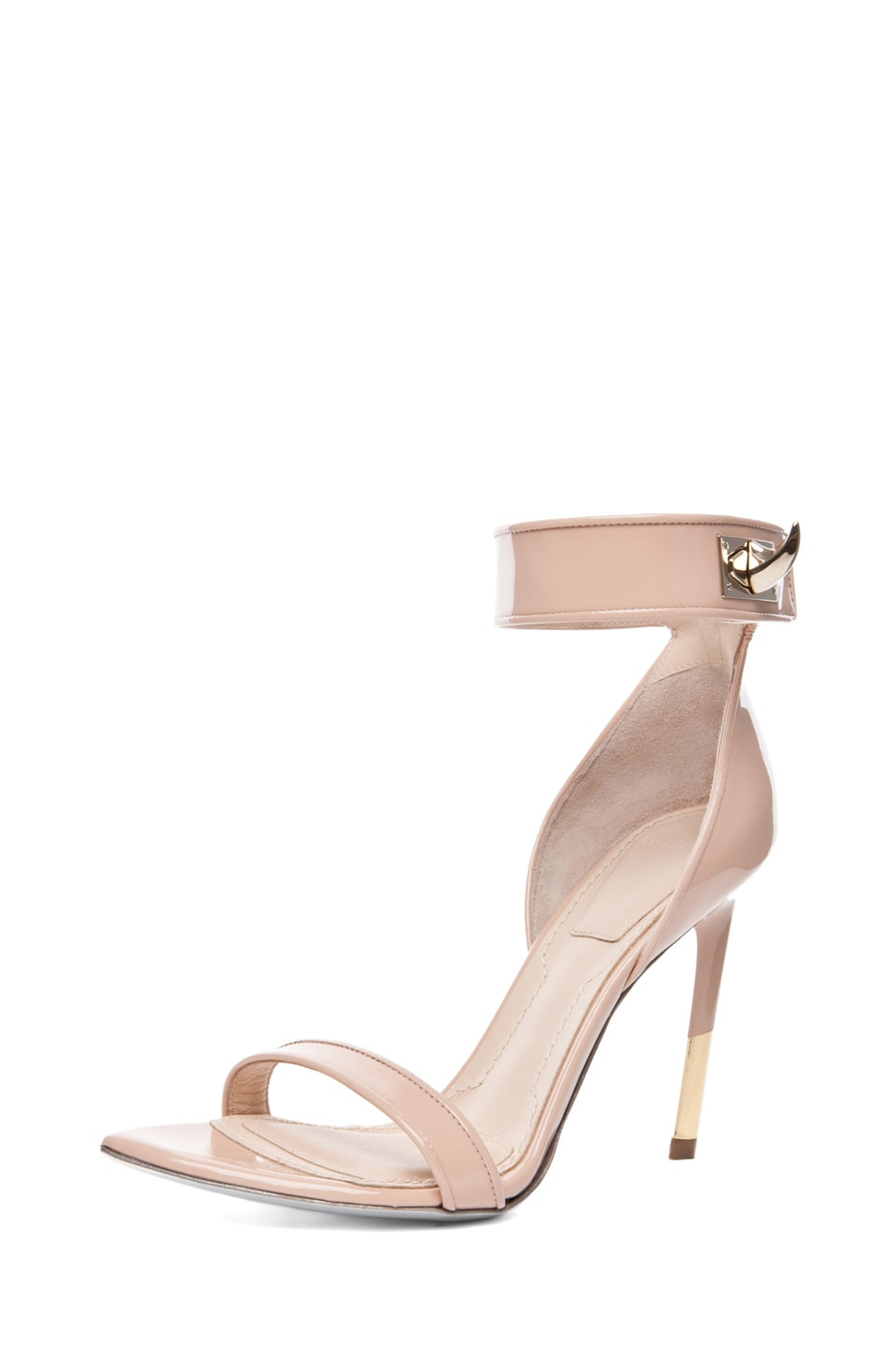 Image 2 of GIVENCHY Guerra Patent Leather Heel in Salmon