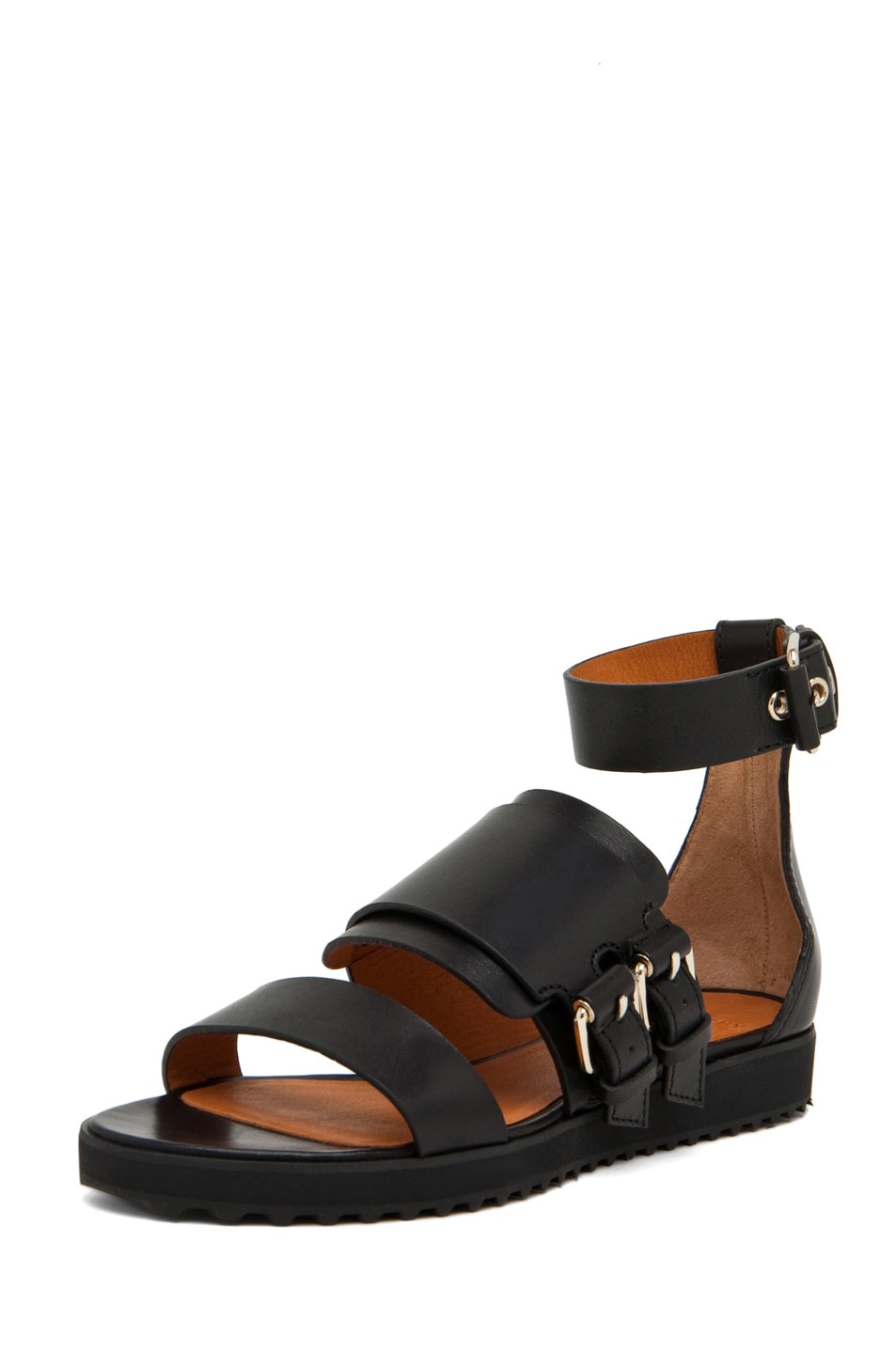 Image 2 of GIVENCHY Biker Sandal in Black