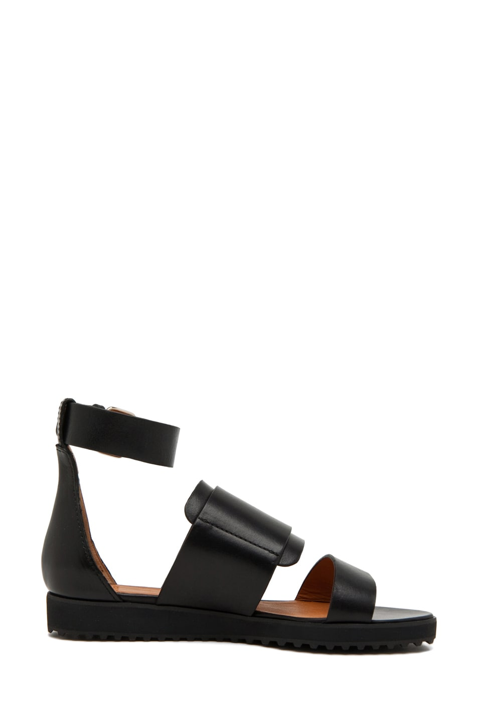 Image 5 of GIVENCHY Biker Sandal in Black