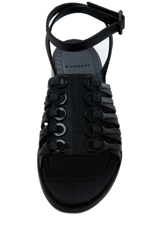 Image 4 of GIVENCHY Gladiator Sandal in Black