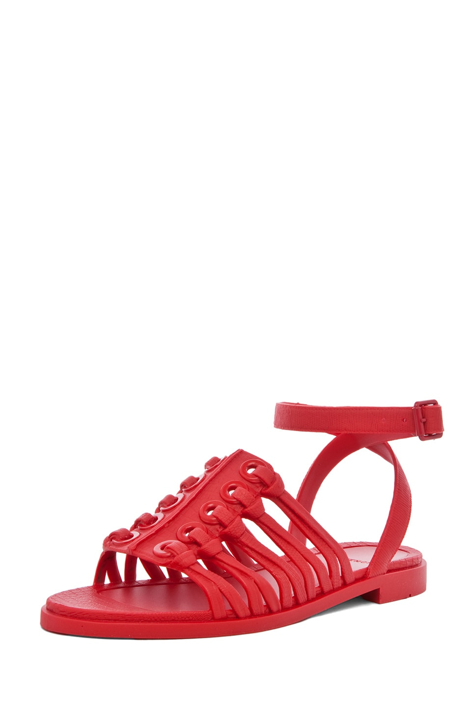 Image 2 of GIVENCHY Gladiator Sandal in Red