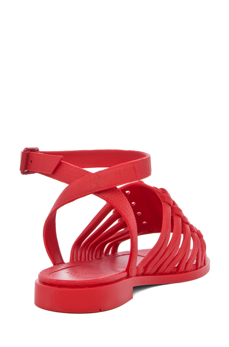 Image 3 of GIVENCHY Gladiator Sandal in Red