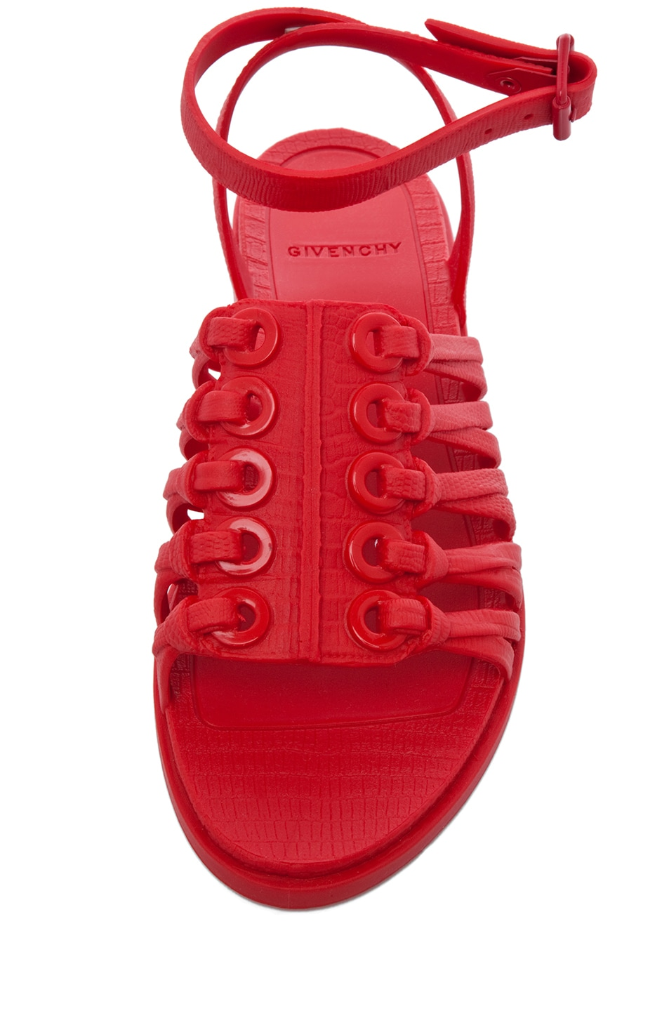 Image 4 of GIVENCHY Gladiator Sandal in Red