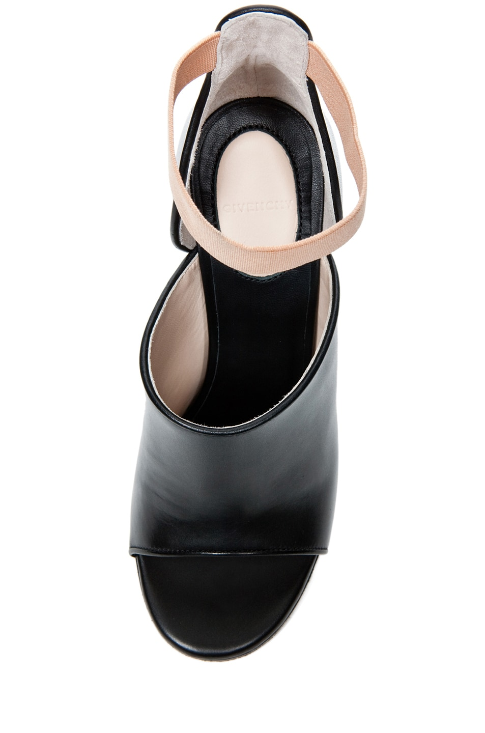 Image 4 of GIVENCHY Dunka Calfskin Leather Podium Heel in Black
