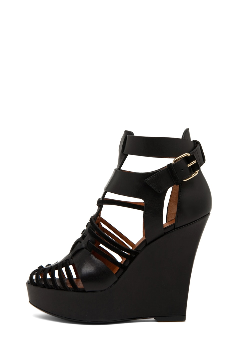 Image 1 of GIVENCHY Gladiator Wedge in Black