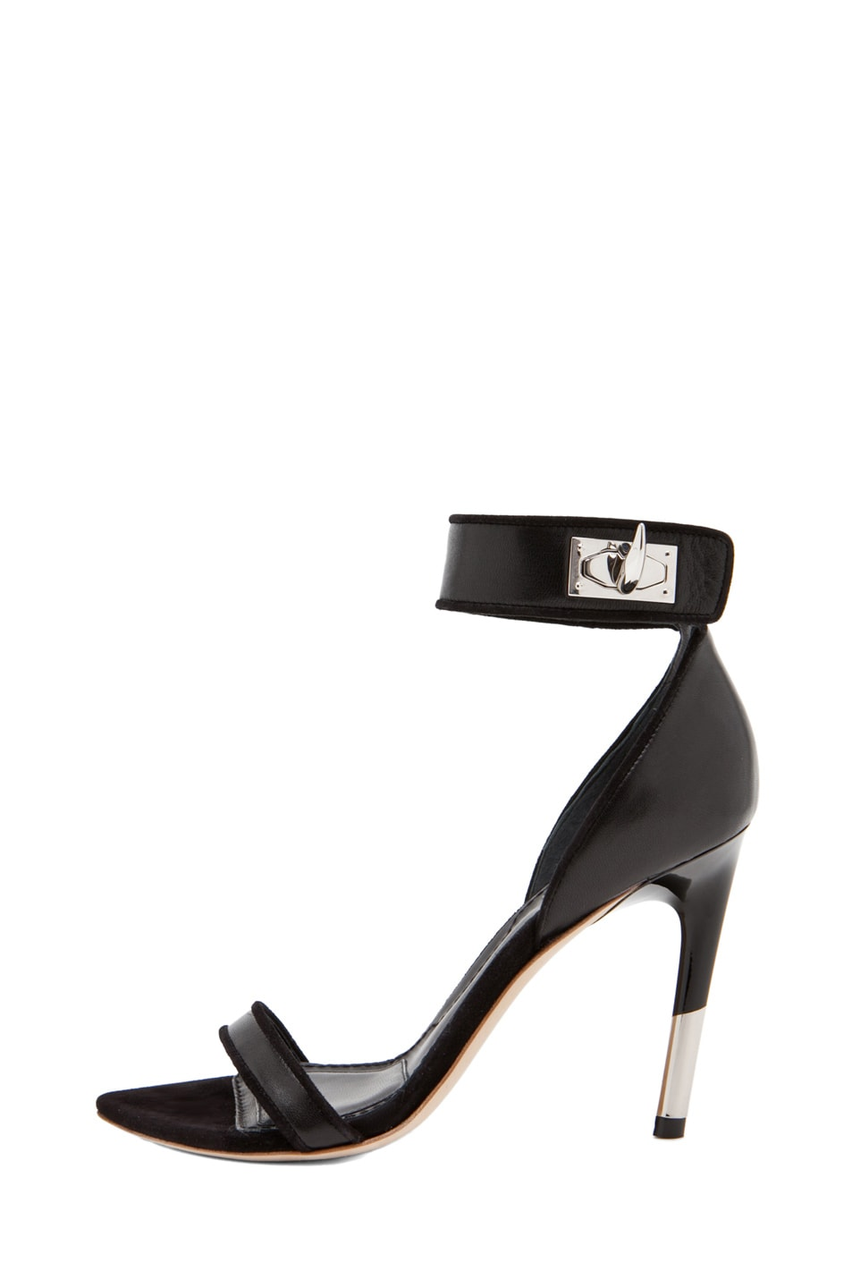 Image 1 of GIVENCHY Guerra Nappa Leather Heel in Black