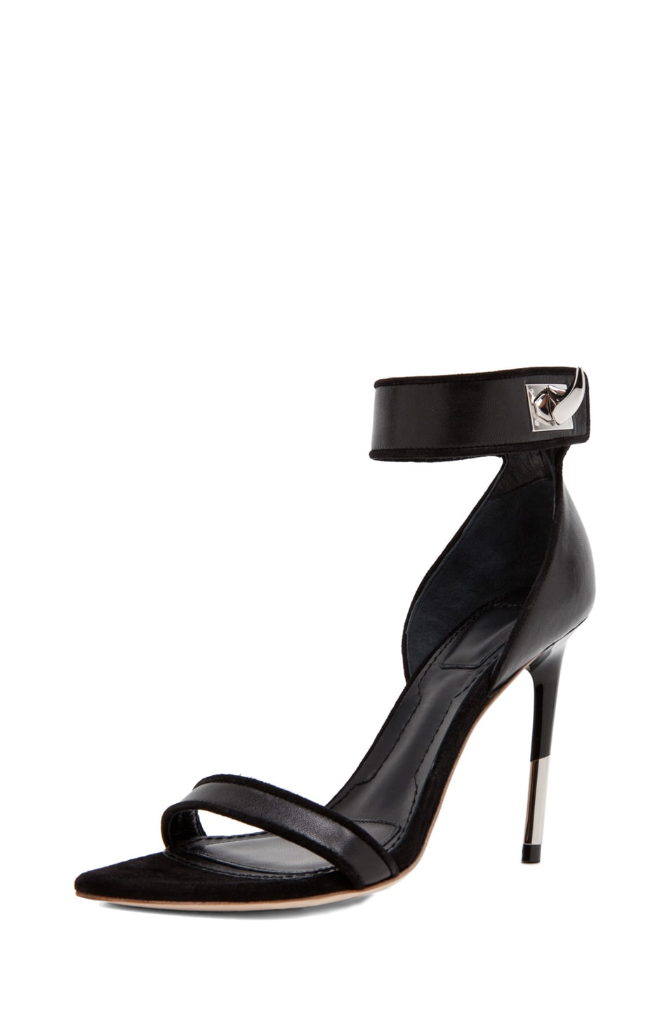Image 2 of GIVENCHY Guerra Nappa Leather Heel in Black