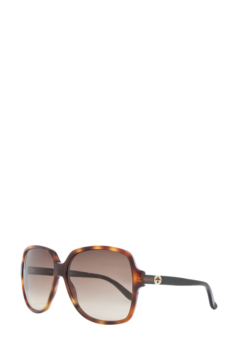 Image 2 of Gucci 3582 Sunglasses in Havana & Brown Gradient
