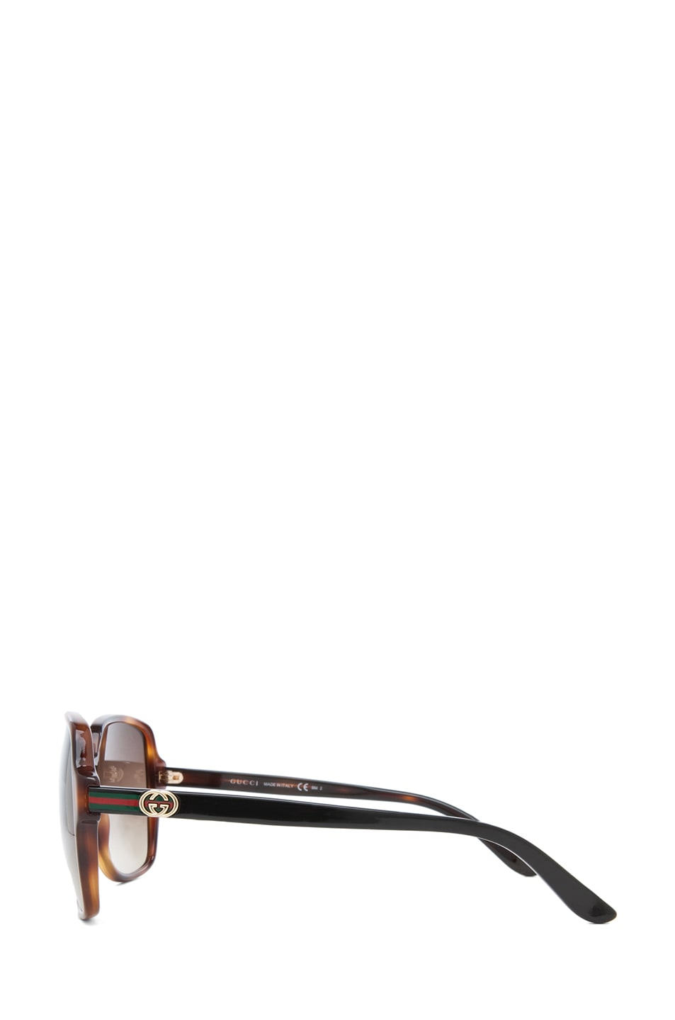 Image 3 of Gucci 3582 Sunglasses in Havana & Brown Gradient