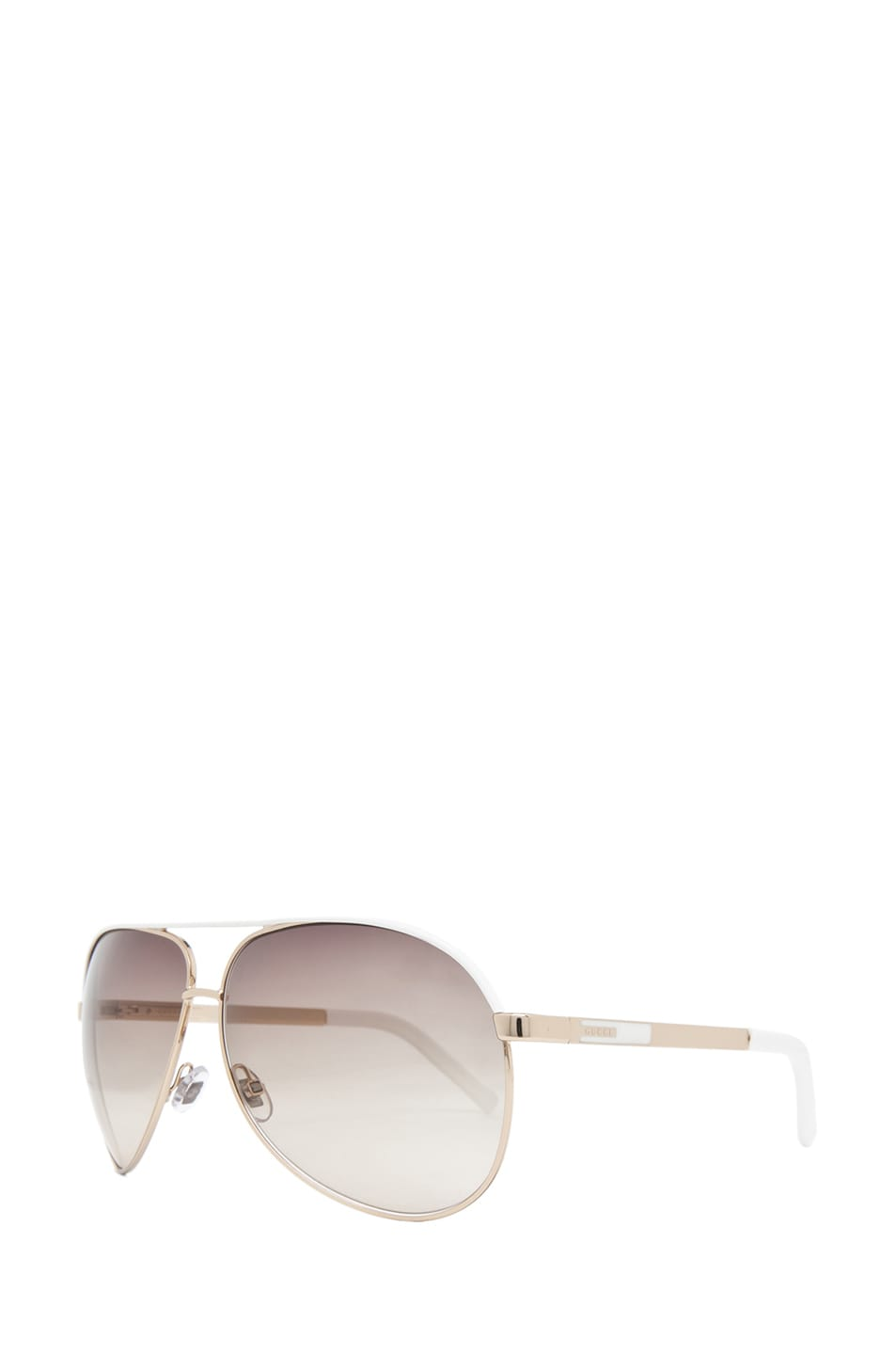 Image 2 of Gucci 1827 Sunglasses in Gold & Brown Gray Gradient