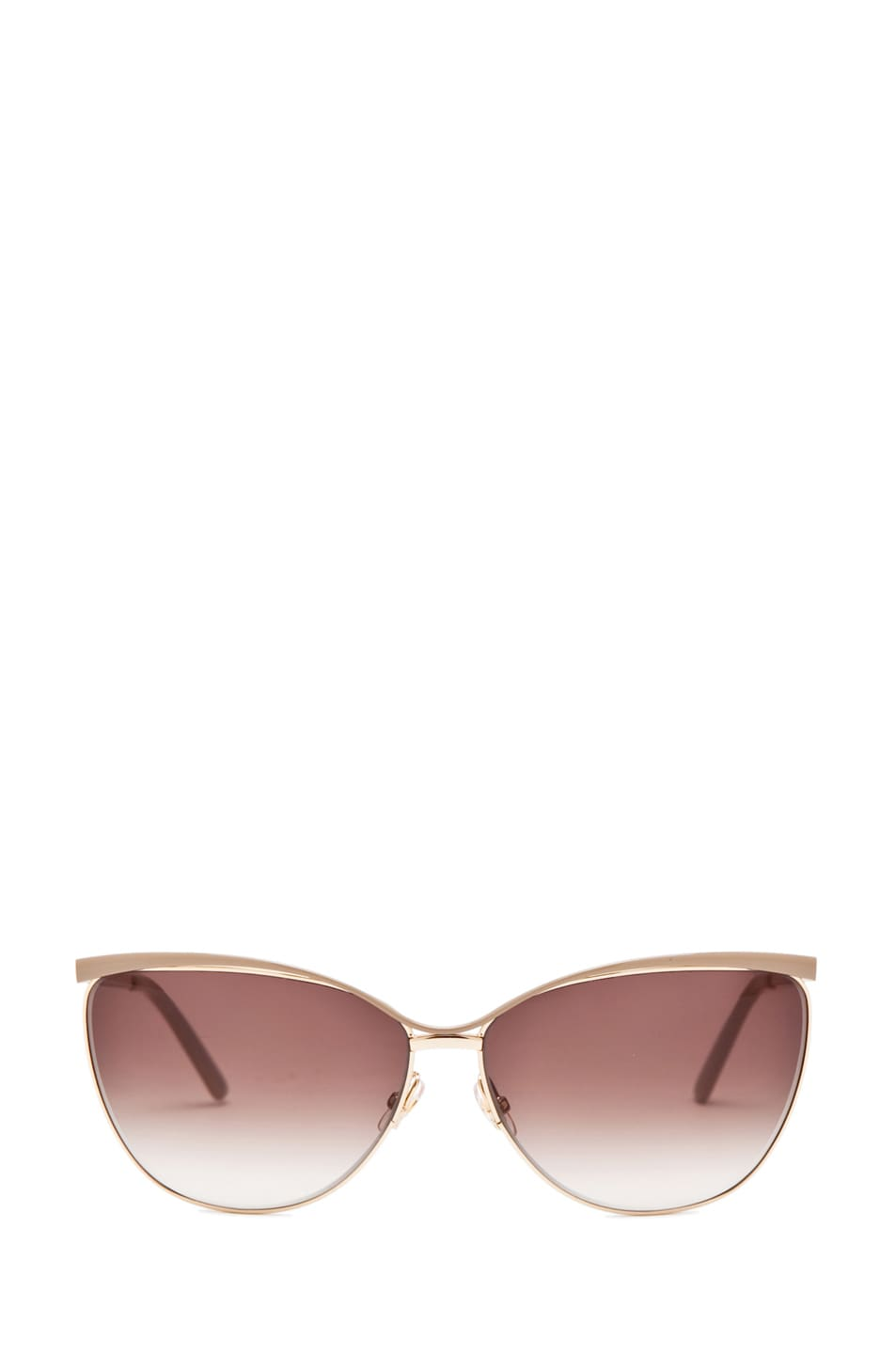 Image 1 of Gucci 2891/S in Caramel Rose Gold with Gray Gradient Lens
