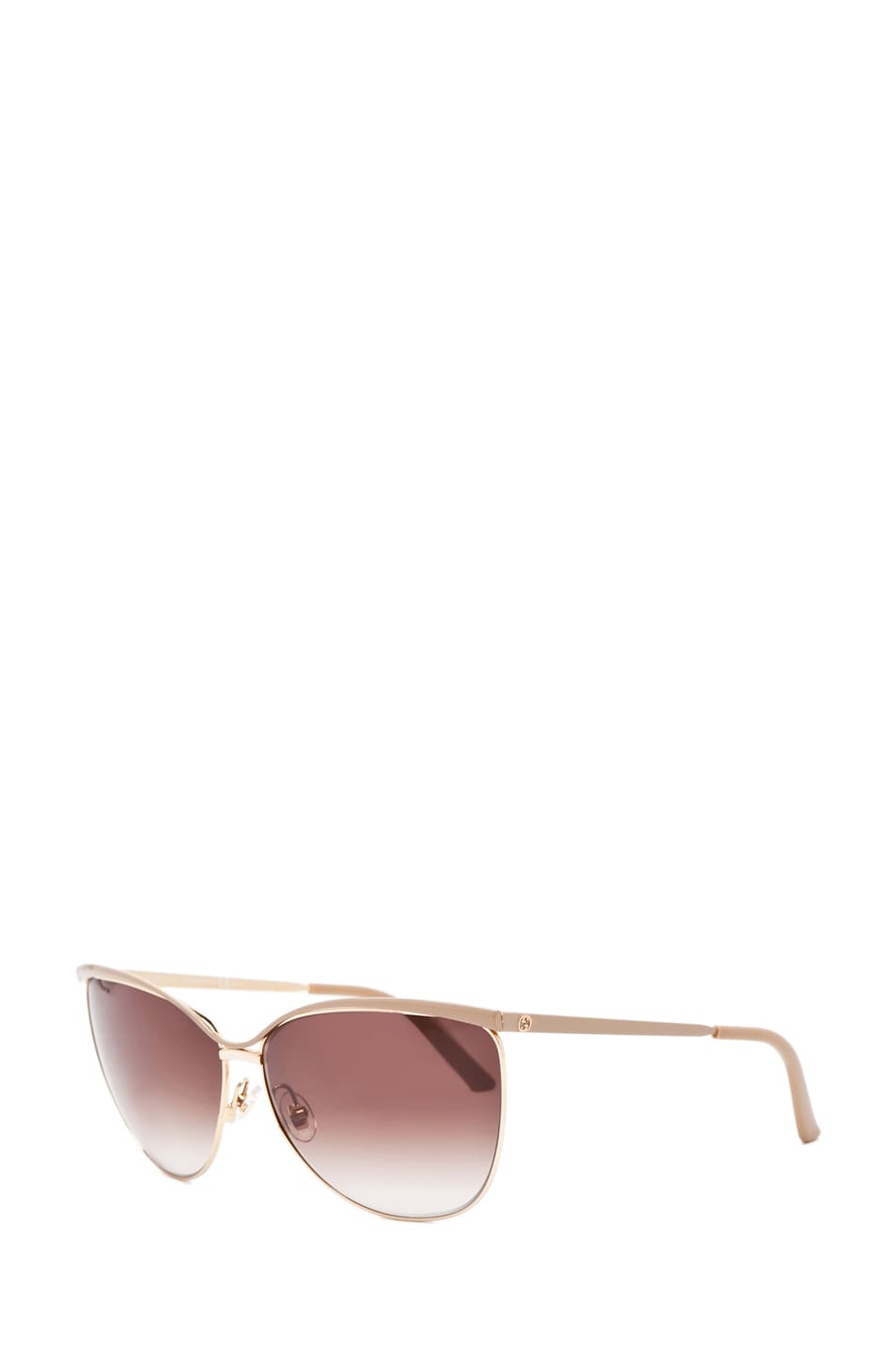 Image 2 of Gucci 2891/S in Caramel Rose Gold with Gray Gradient Lens