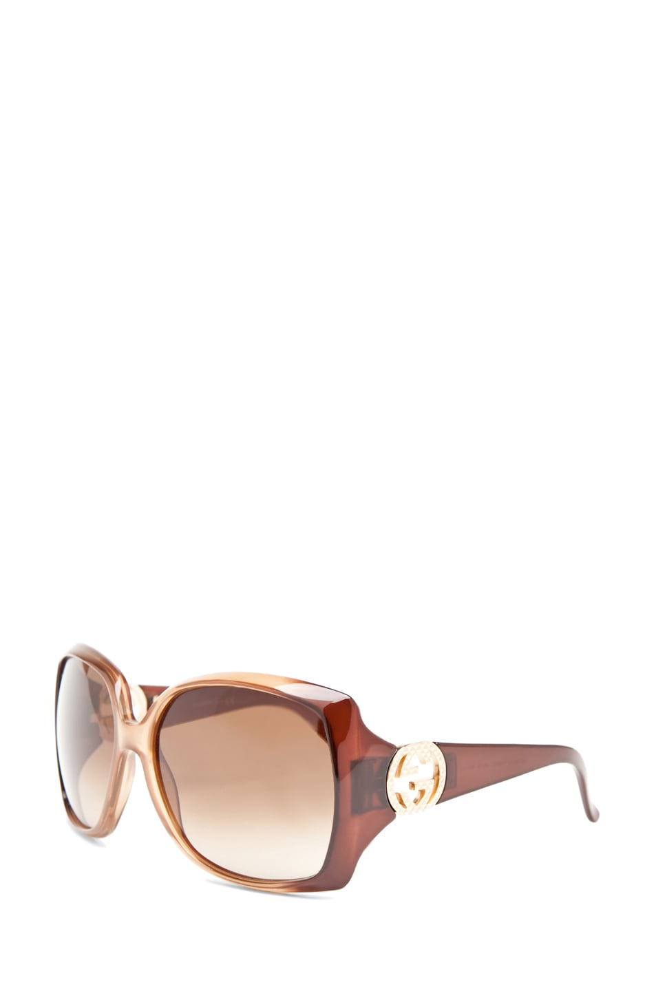 Image 2 of Gucci 3503 Sunglasses in Brown Beige