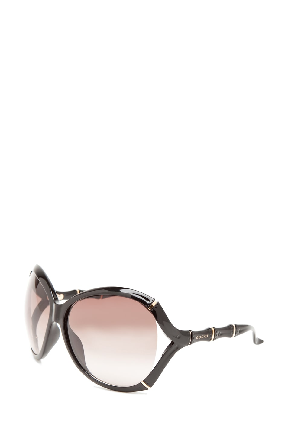 Image 2 of Gucci 3509 Sunglasses in Shiny Black