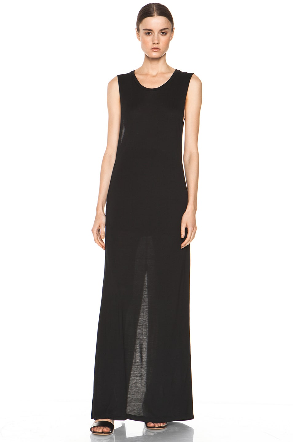 Image 1 of Haute Hippie Muscle Gown in Black