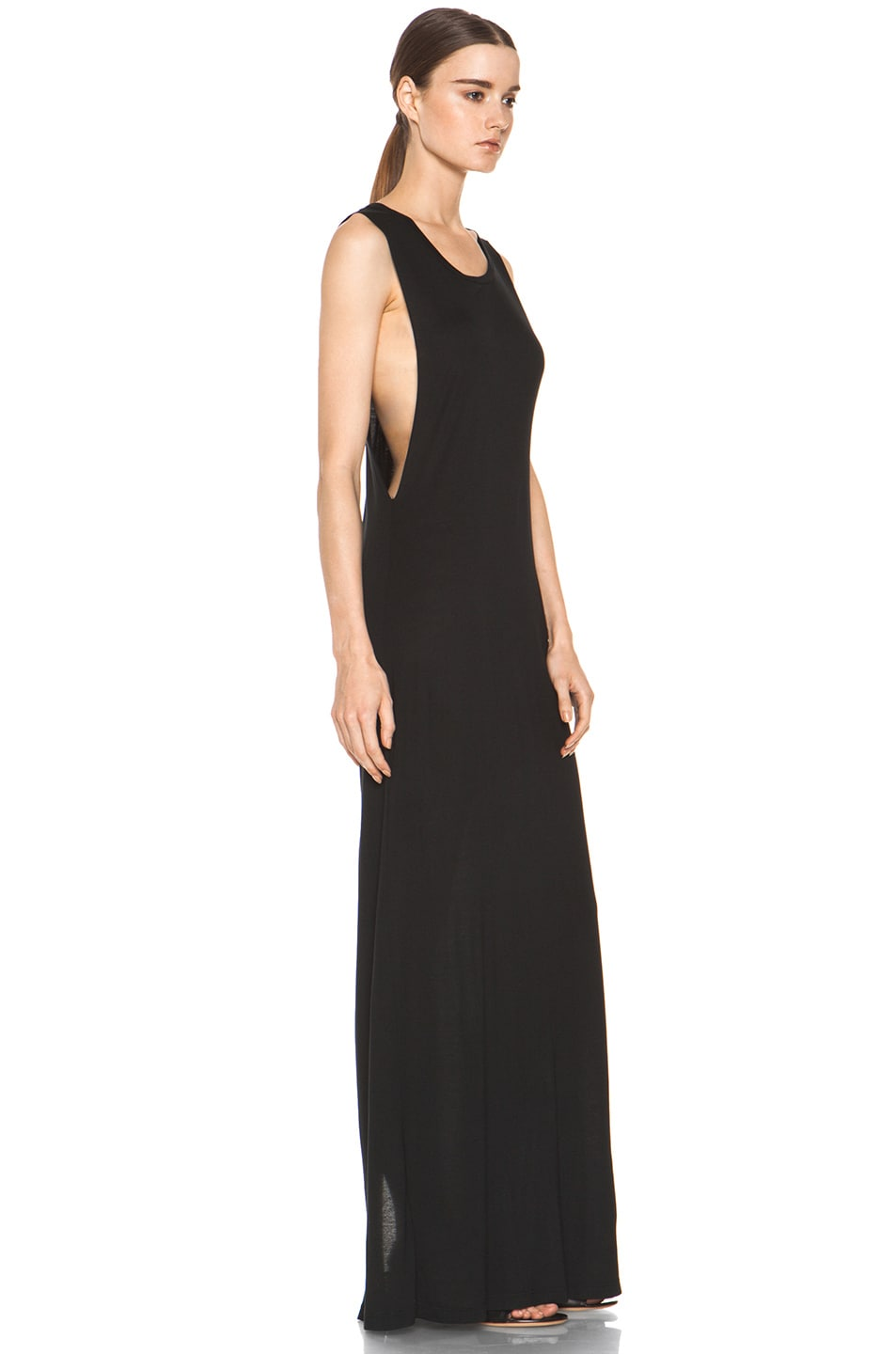Image 2 of Haute Hippie Muscle Gown in Black