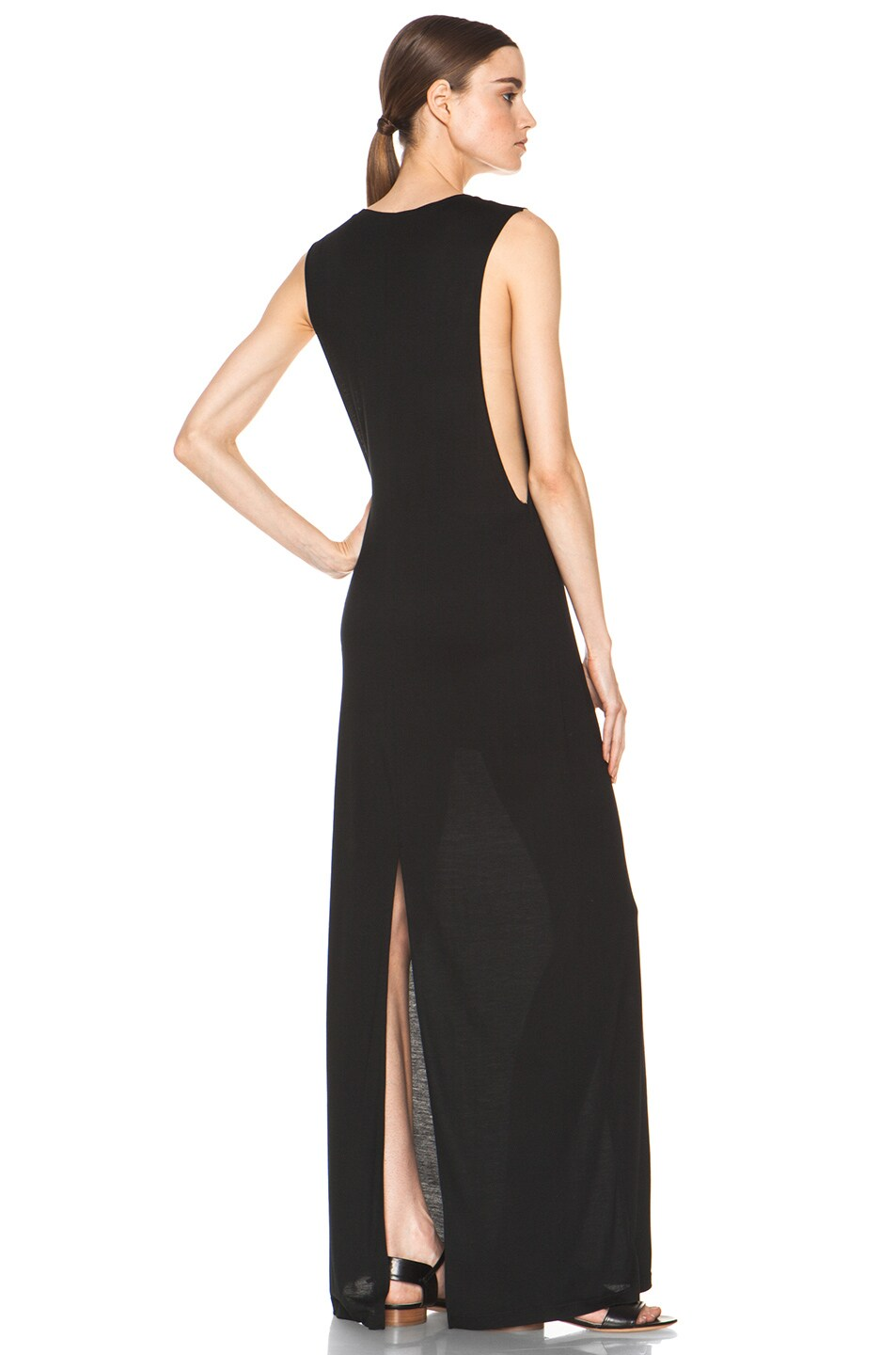 Image 4 of Haute Hippie Muscle Gown in Black