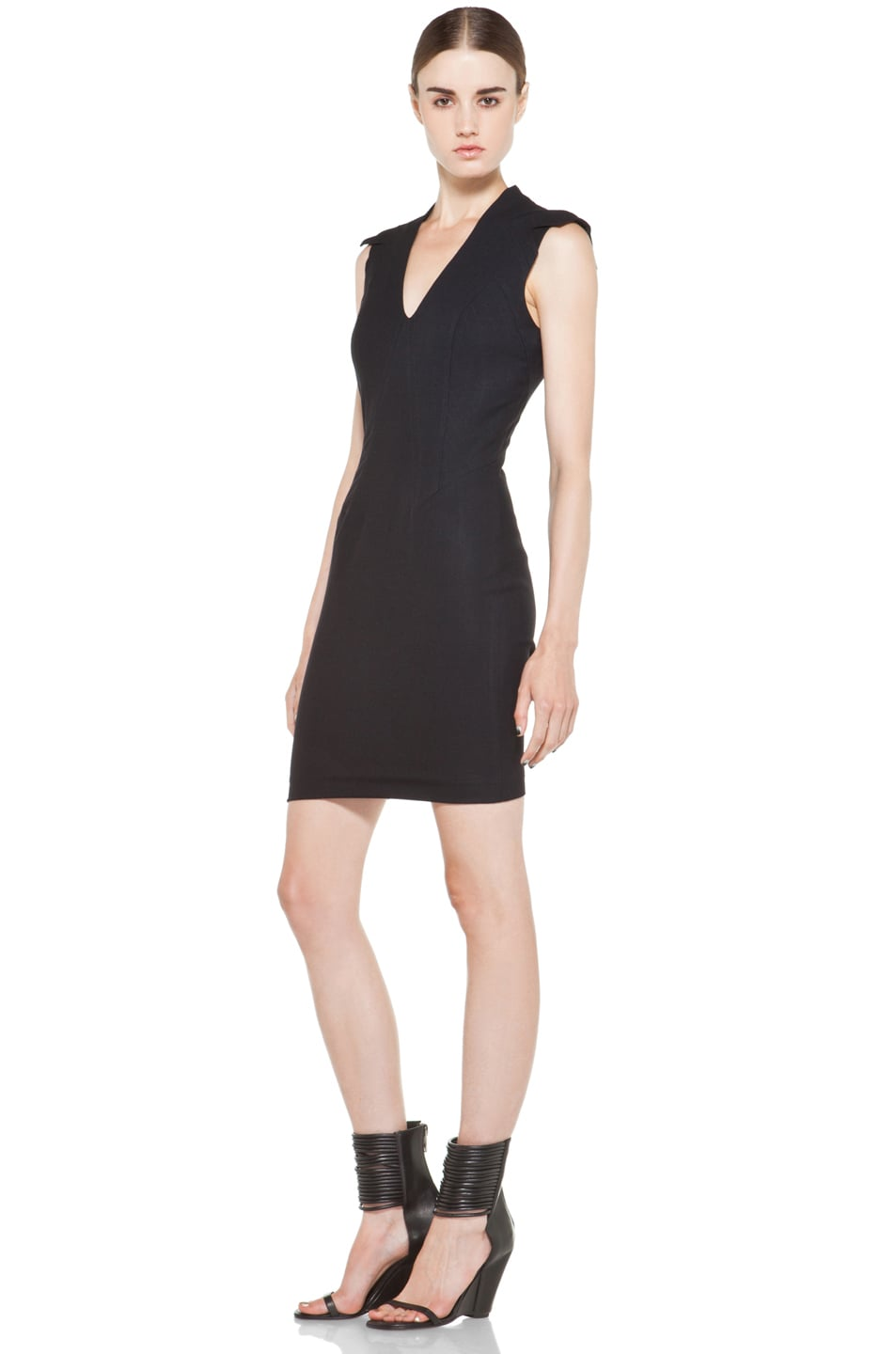 Image 2 of Helmut Lang Pixel Dress in Black