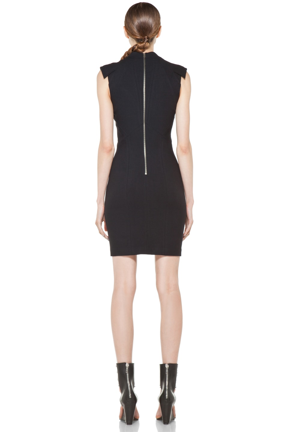 Image 4 of Helmut Lang Pixel Dress in Black