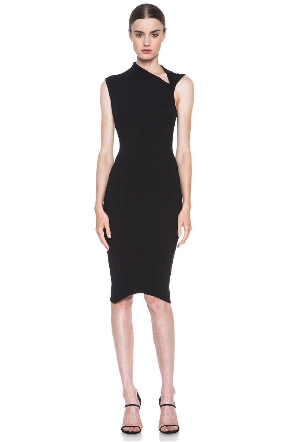Image 1 of HELMUT Helmut Lang Gala Body Contusion Dress in Black